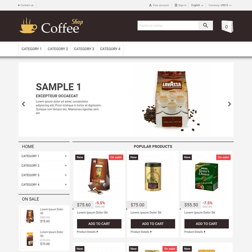 theme - Food & Restaurant - CoffeeShop - 1
