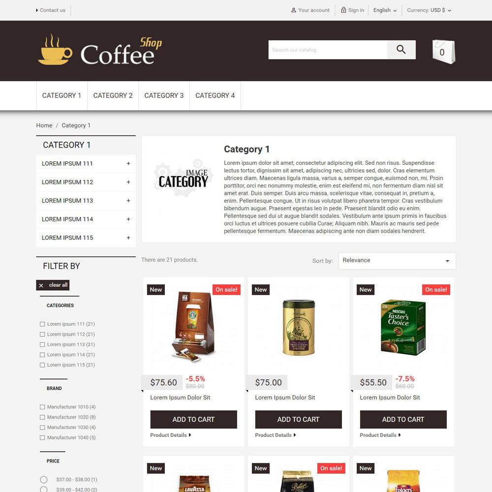 theme - Food & Restaurant - CoffeeShop - 2