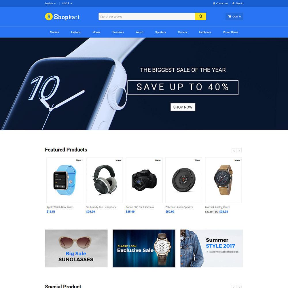 theme - Электроника и компьютеры - Shopkart Electronics - Digital Mobile Store - 2