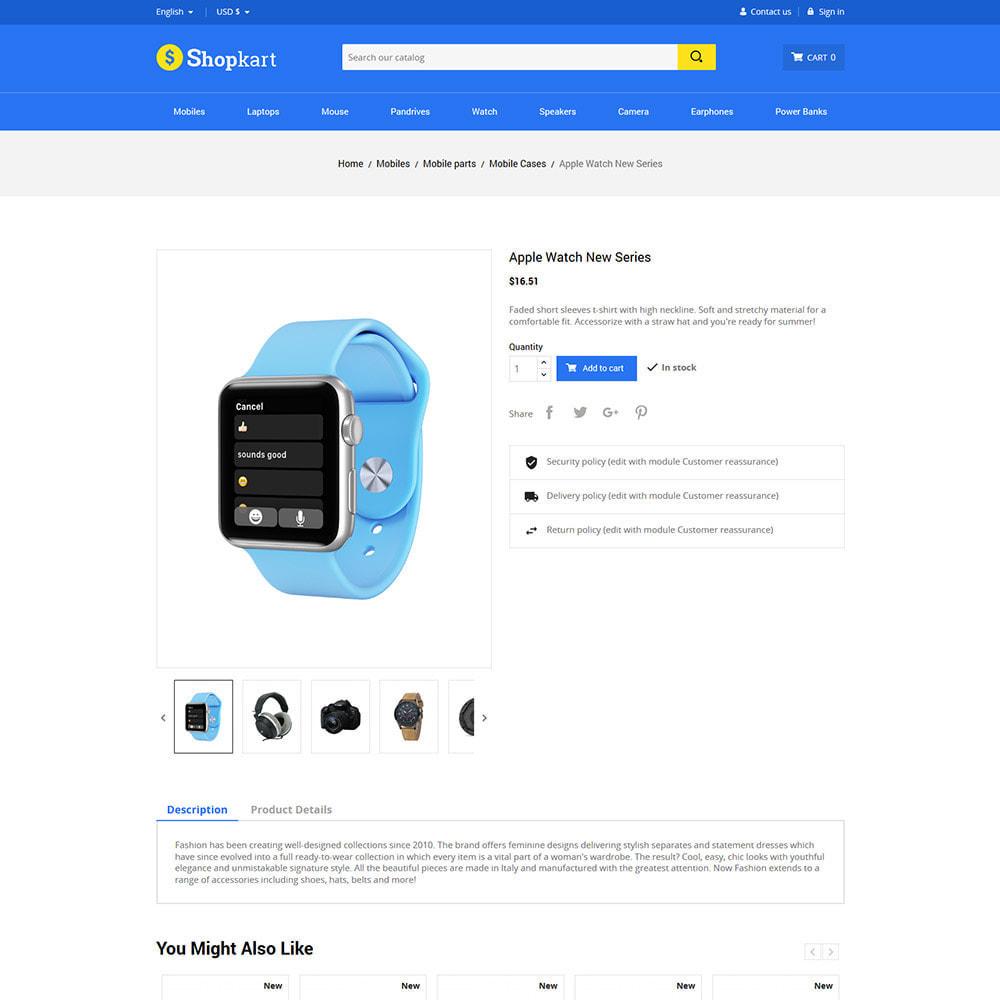 theme - Электроника и компьютеры - Shopkart Electronics - Digital Mobile Store - 5