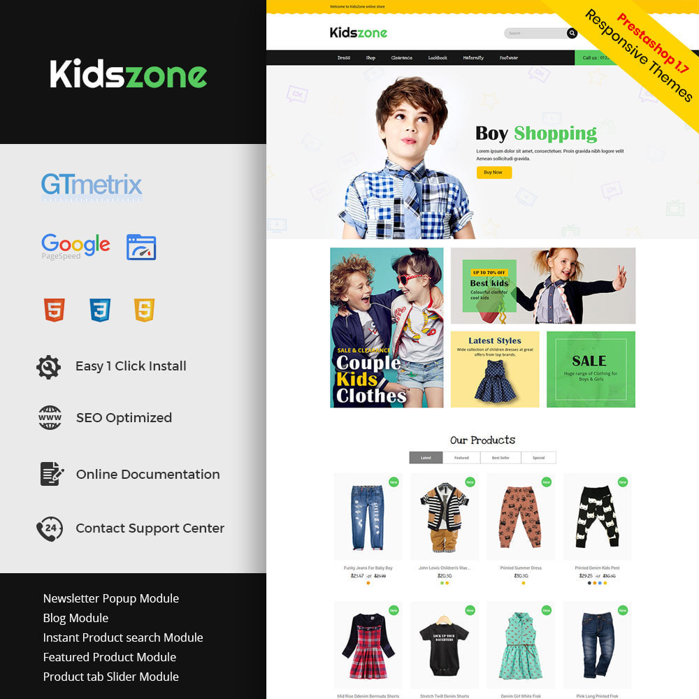theme - Kids & Toys - Kids Toys - Game zone Cloth Store - 1