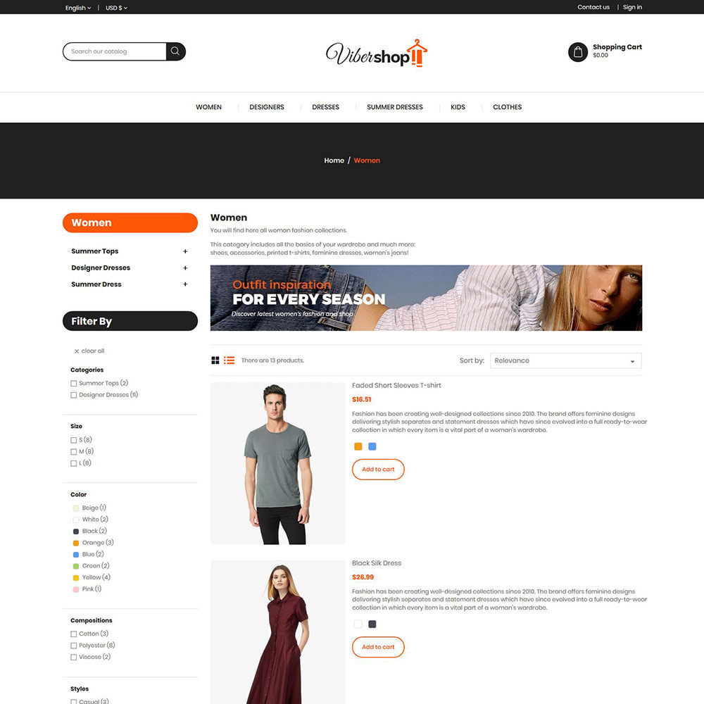 theme - Fashion & Shoes - Fashion Apparels - Women Accessories   Store - 4