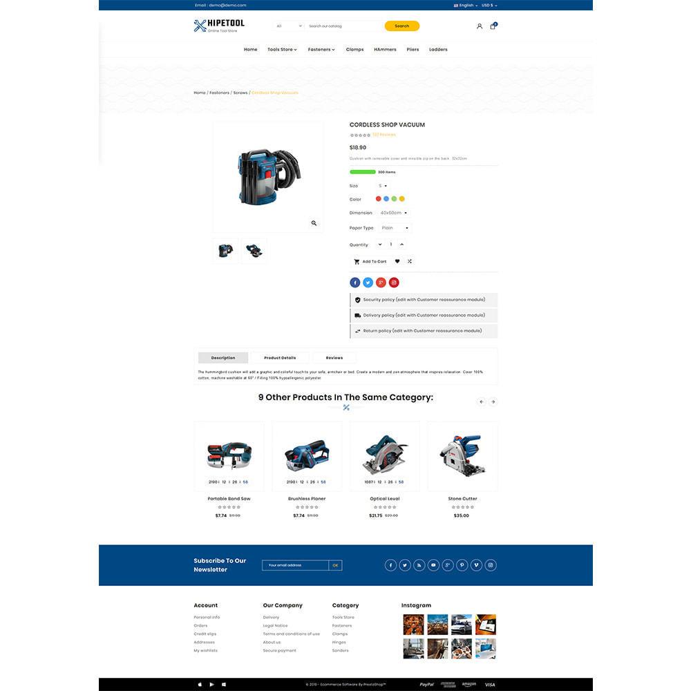theme - Automotive & Cars - Tool Hipetool- Tools Mega Store - 4