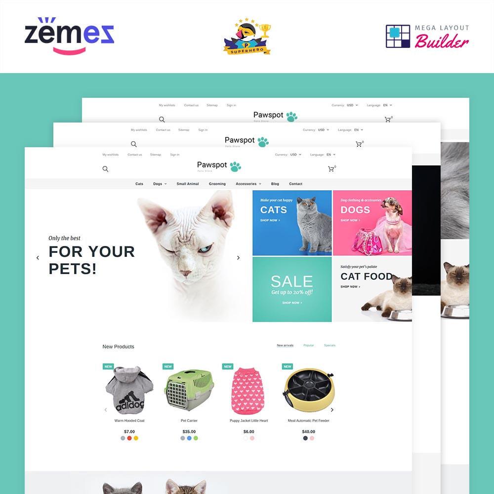theme - Animaux - Pawspot - Pets Store - 2