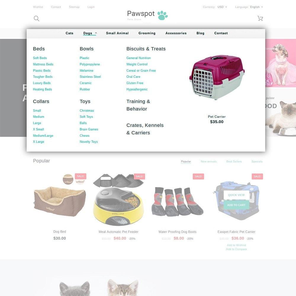 theme - Animales y Mascotas - Pawspot - Pets Store - 4