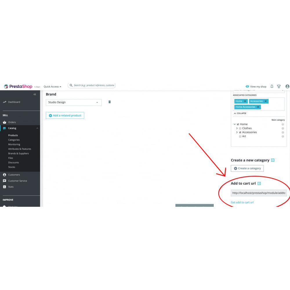 module - Inscription & Processus de commande - Add to cart from url - 1