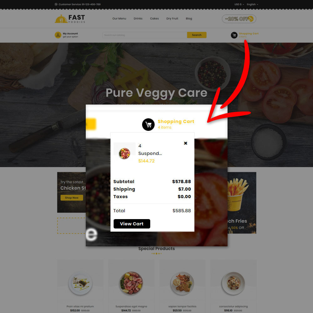 theme - Eten & Restaurant - Fast Foodies Shop - 7