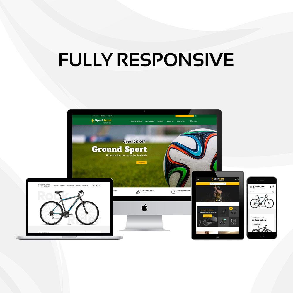 theme - Sport, Attività & Viaggi - Sport Land - Il negozio di articoli sportivi Mega - 4