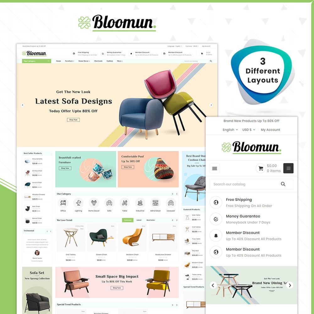 theme - Home & Garden - Digital  Furniture –Bloomun Furniture Store - 1