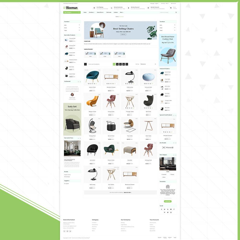 theme - Home & Garden - Digital  Furniture –Bloomun Furniture Store - 3