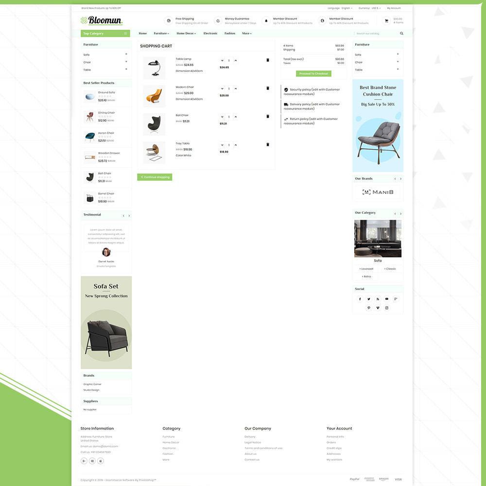 theme - Home & Garden - Digital  Furniture –Bloomun Furniture Store - 5