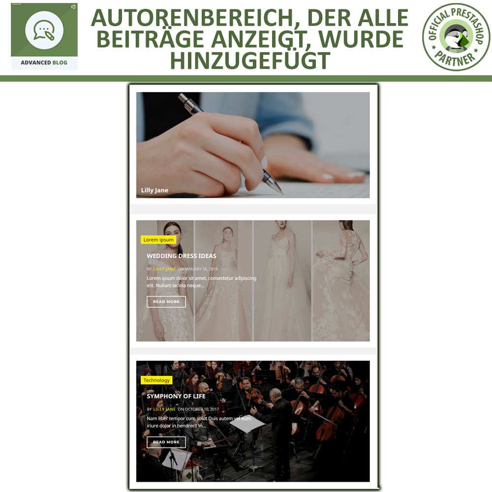 module - Blog, Forum & News - Responsives Professionelles Blog, SEO-Freundliches Blog - 8