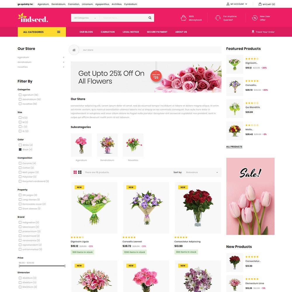 theme - Regali, Fiori & Feste - Indseed - Il negozio di bouquet online - 6