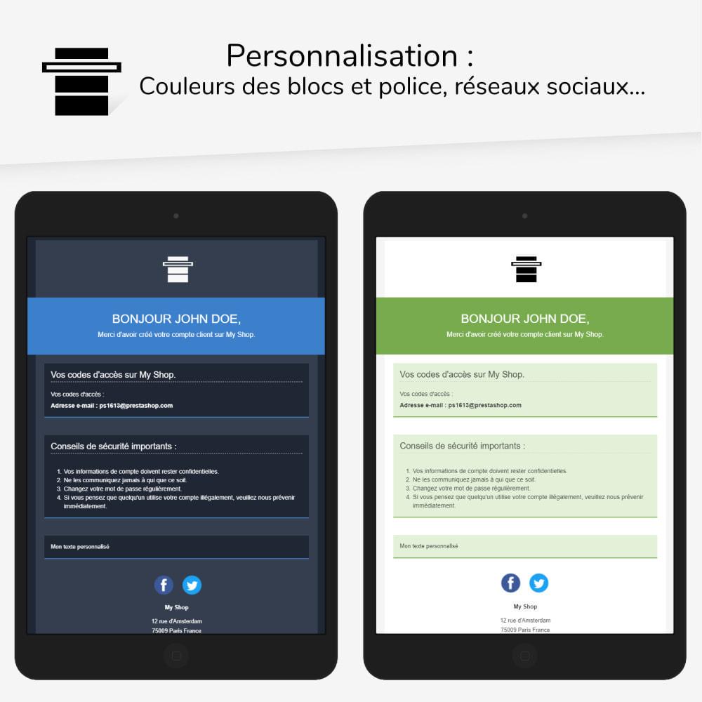 email - Templates d'e-mails PrestaShop - Head - templates d'e-mails - 2