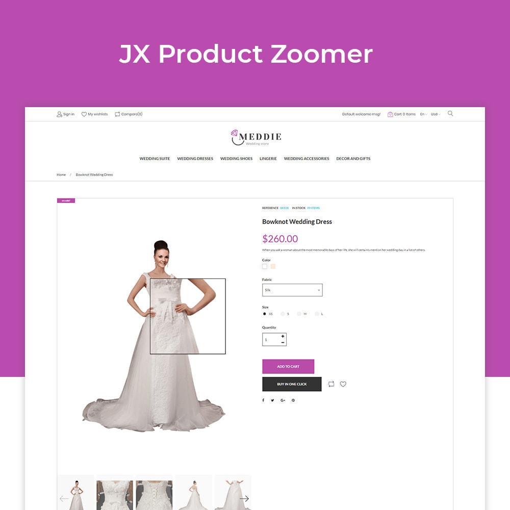 theme - Moda & Calzature - Meddie - Wedding Shop - 3