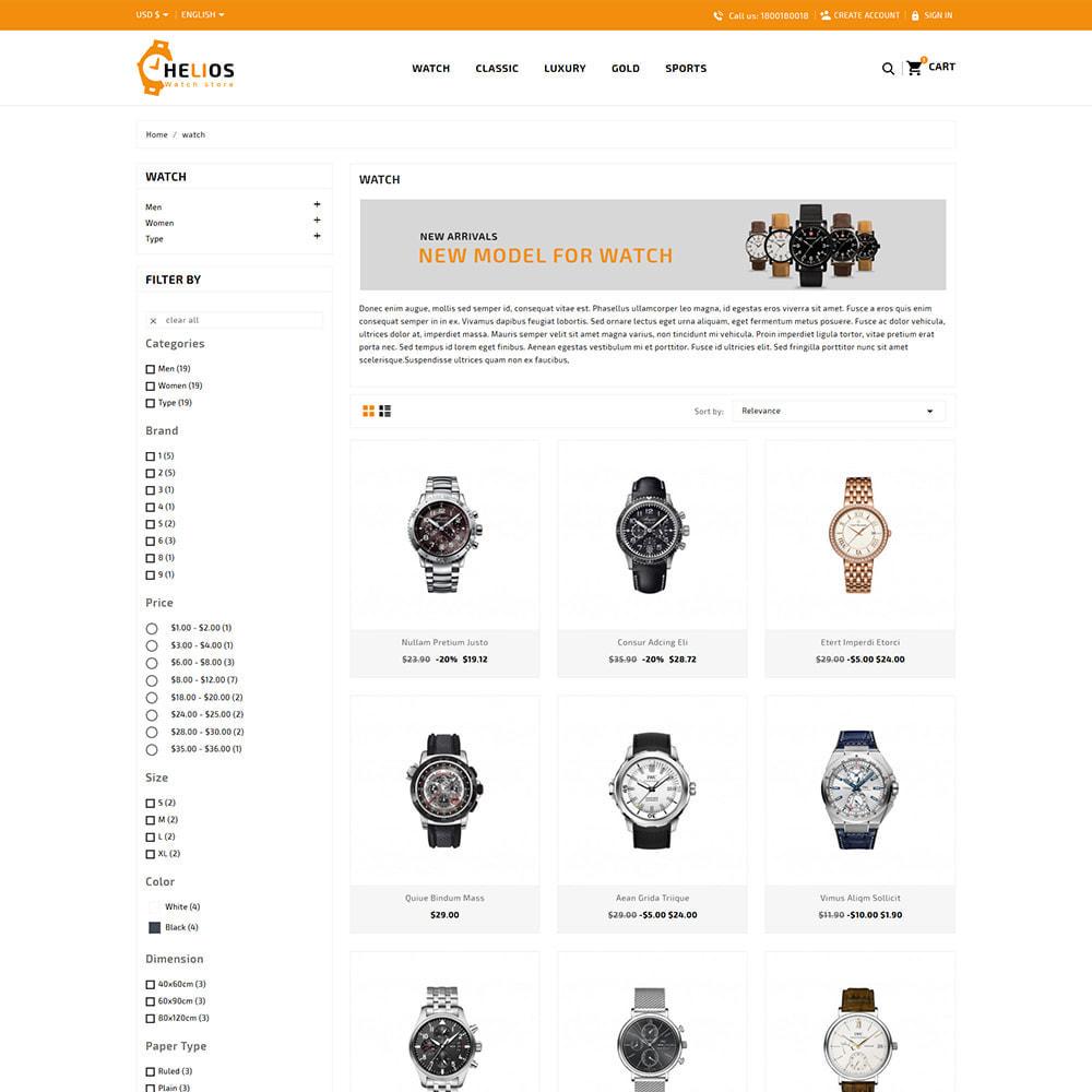 theme - Fashion & Shoes - Helios Fashion & Watch Store - 3