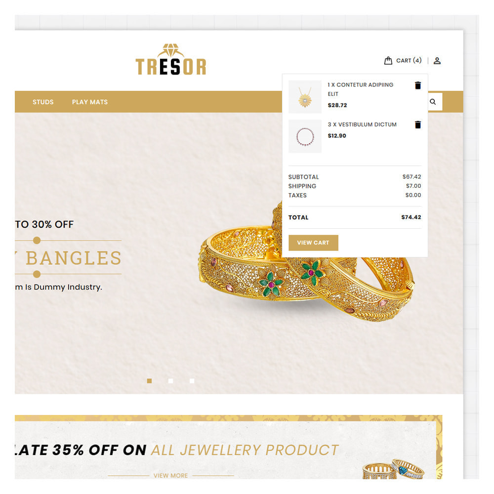 theme - Jewelry & Accessories - Tresor Jewellery & Accesories Store - 7