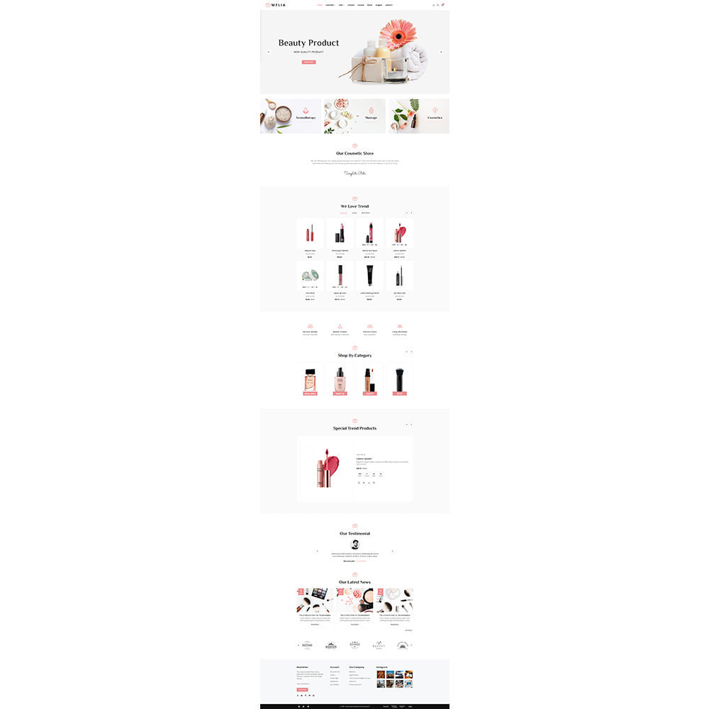theme - Health & Beauty - Cosme Melia -  Cosmetic Store - 2