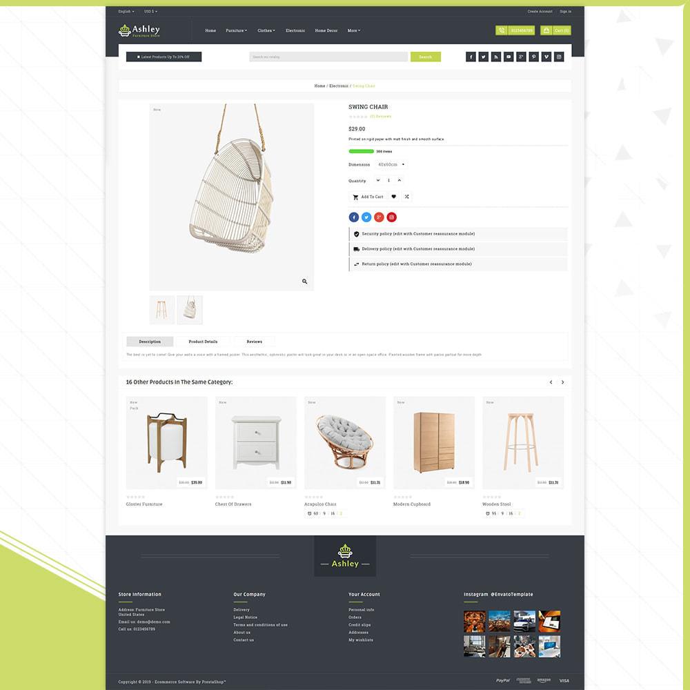 theme - Home & Garden - Wood Ashley- Furniture Shop - 4