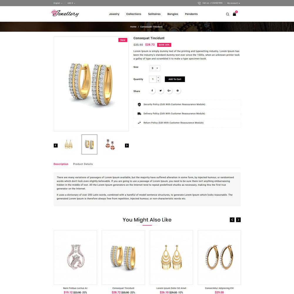 theme - Bijoux & Accessoires - Jwellery Shop - 4