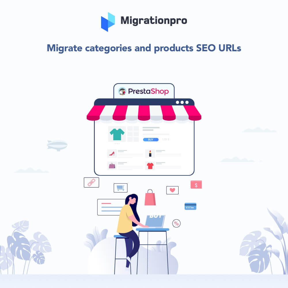 module - Migratie & Backup - MigrationPro: osCommerce to PrestaShop SEO Redirect - 2