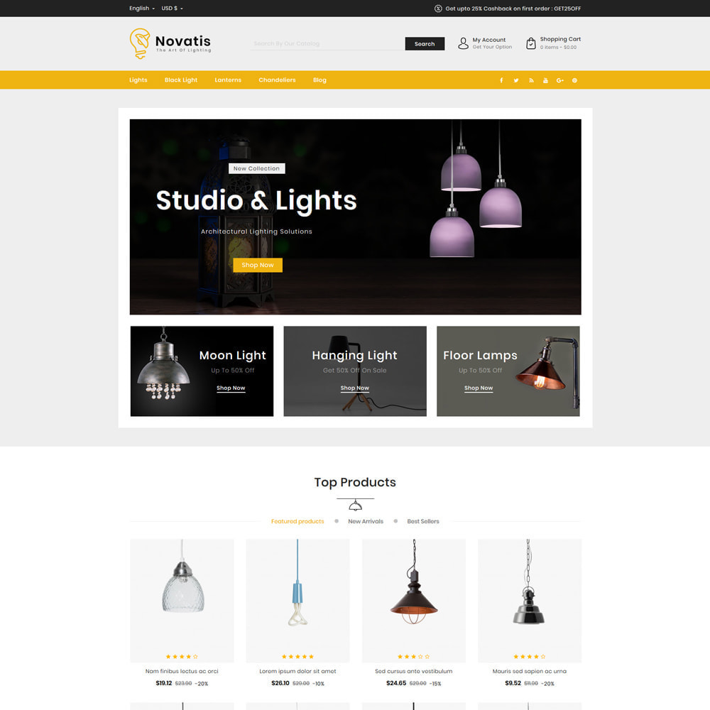 theme - Samochody - Novatis Light Shop - 2