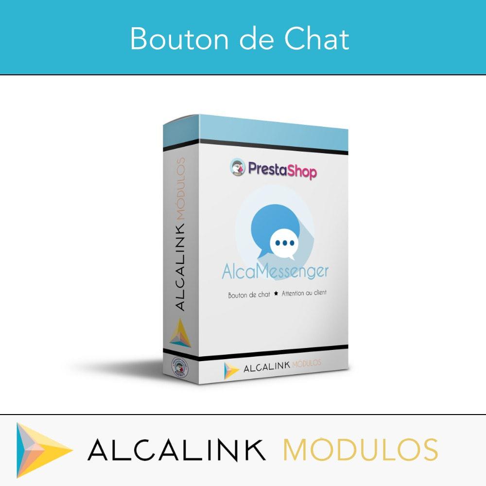module - Support & Chat Online - Bouton de chat - 1