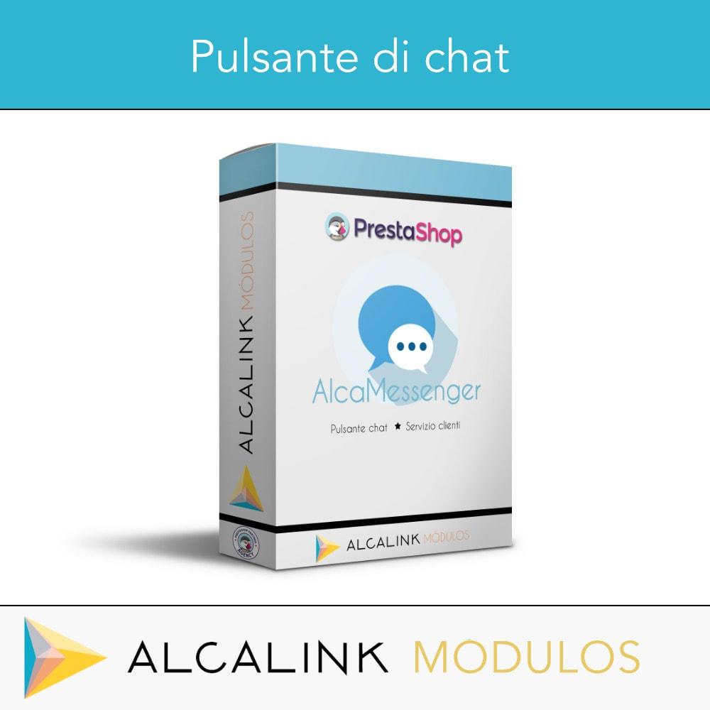 module - Supporto & Chat online - Pulsante di chat - 1