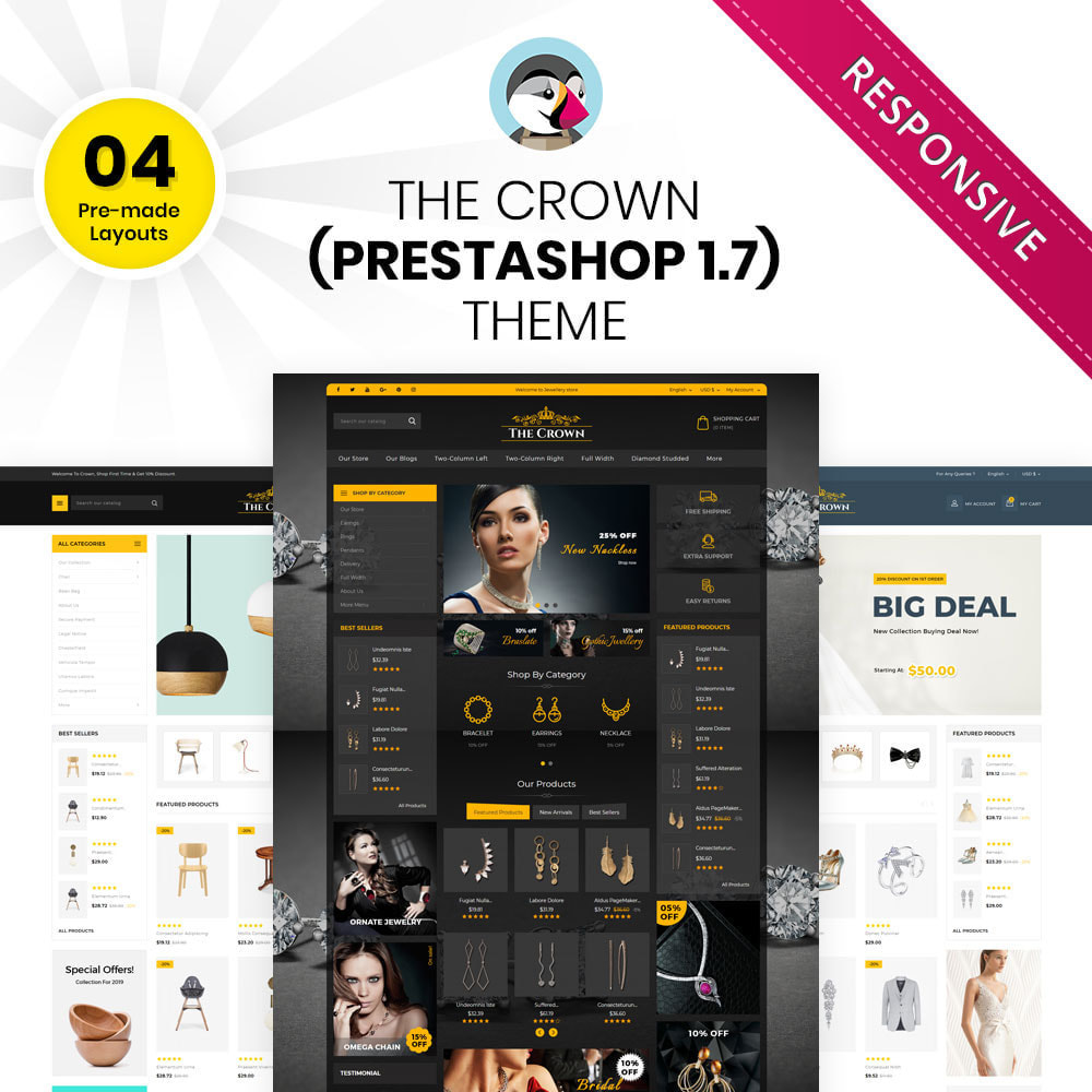 theme - Jewelry & Accessories - Crown - The Jewellery Store - 1