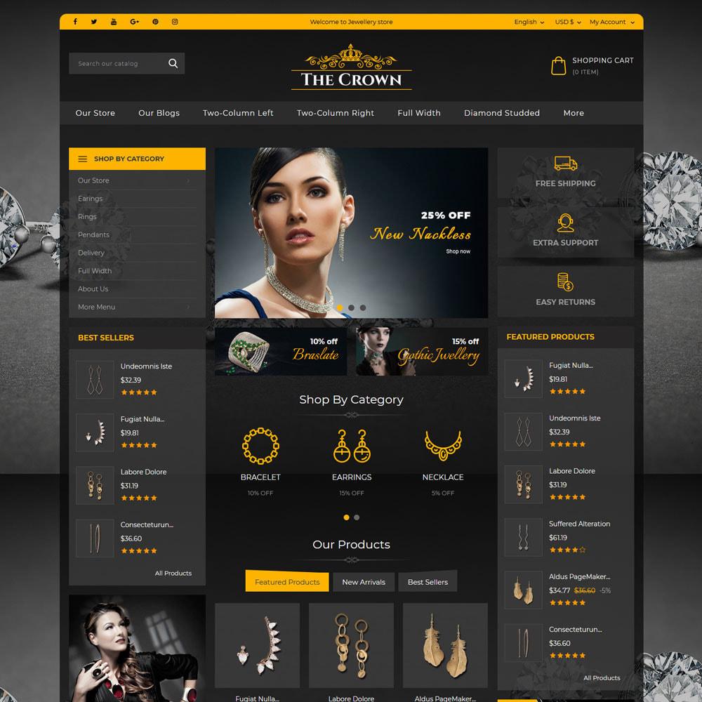theme - Bijoux & Accessoires - Crown - La bijouterie - 4