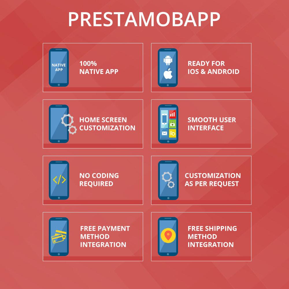 module - Mobile Endgeräte - PrestaMobApp - Nativer App Builder für Android und IOS - 2