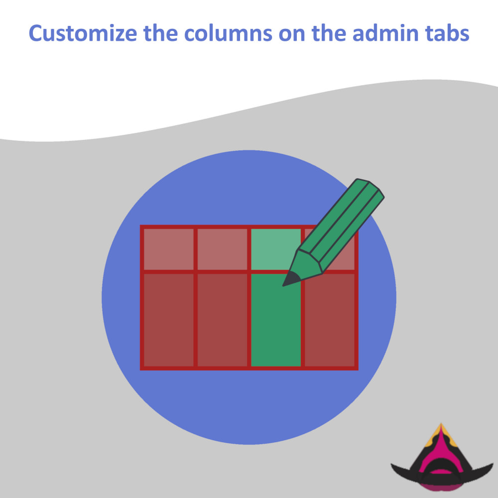 module - Herramientas Administrativas - Customize the columns on the admin lists - 1
