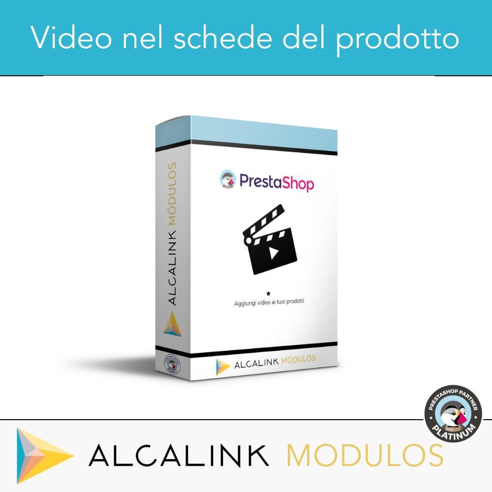 module - Video & Musica - Video nel schede del prodotto - Youtube, Dailymotion... - 1