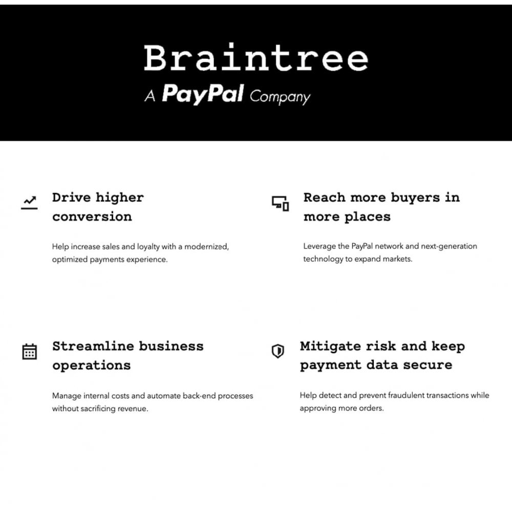 module - Payments & Gateways - Braintree official - 1