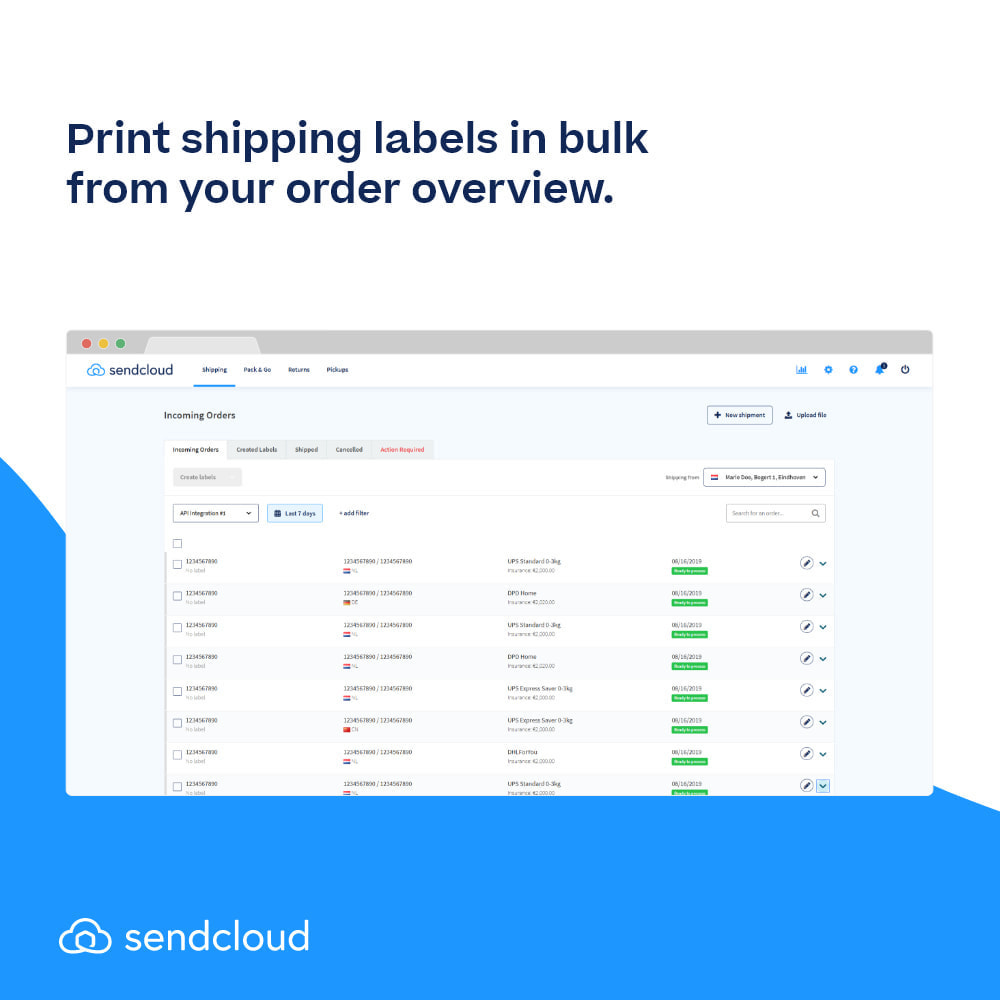 module - Shipping Carriers - SendCloud | Europe's Number 1 Shipping Tool - 5