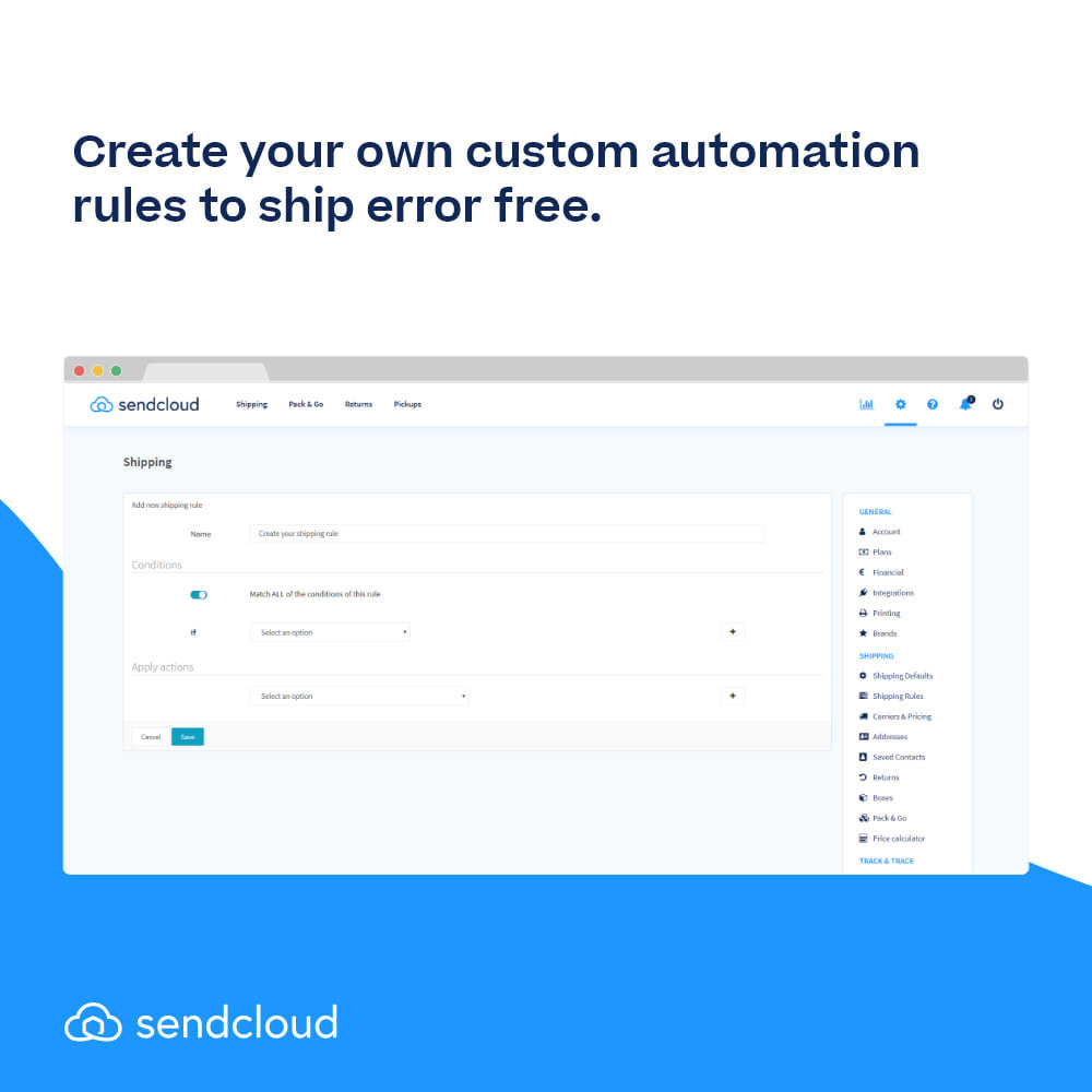 module - Shipping Carriers - SendCloud | Europe's Number 1 Shipping Tool - 7