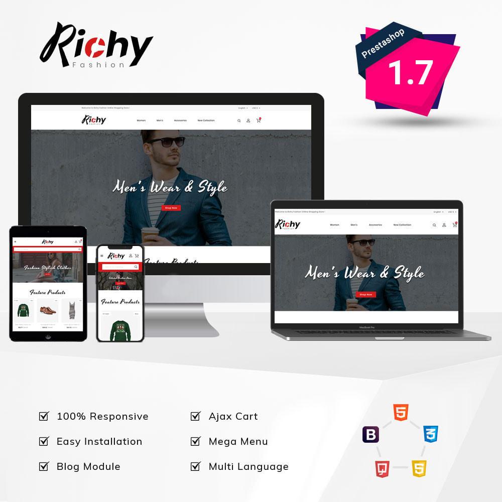 theme - Fashion & Shoes - Richy Fashion Shop - 1