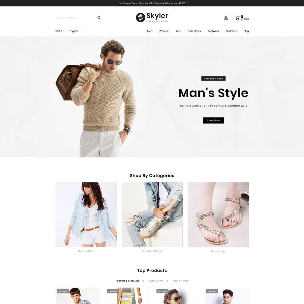 theme - Fashion & Shoes - Skyler Fashion - 2