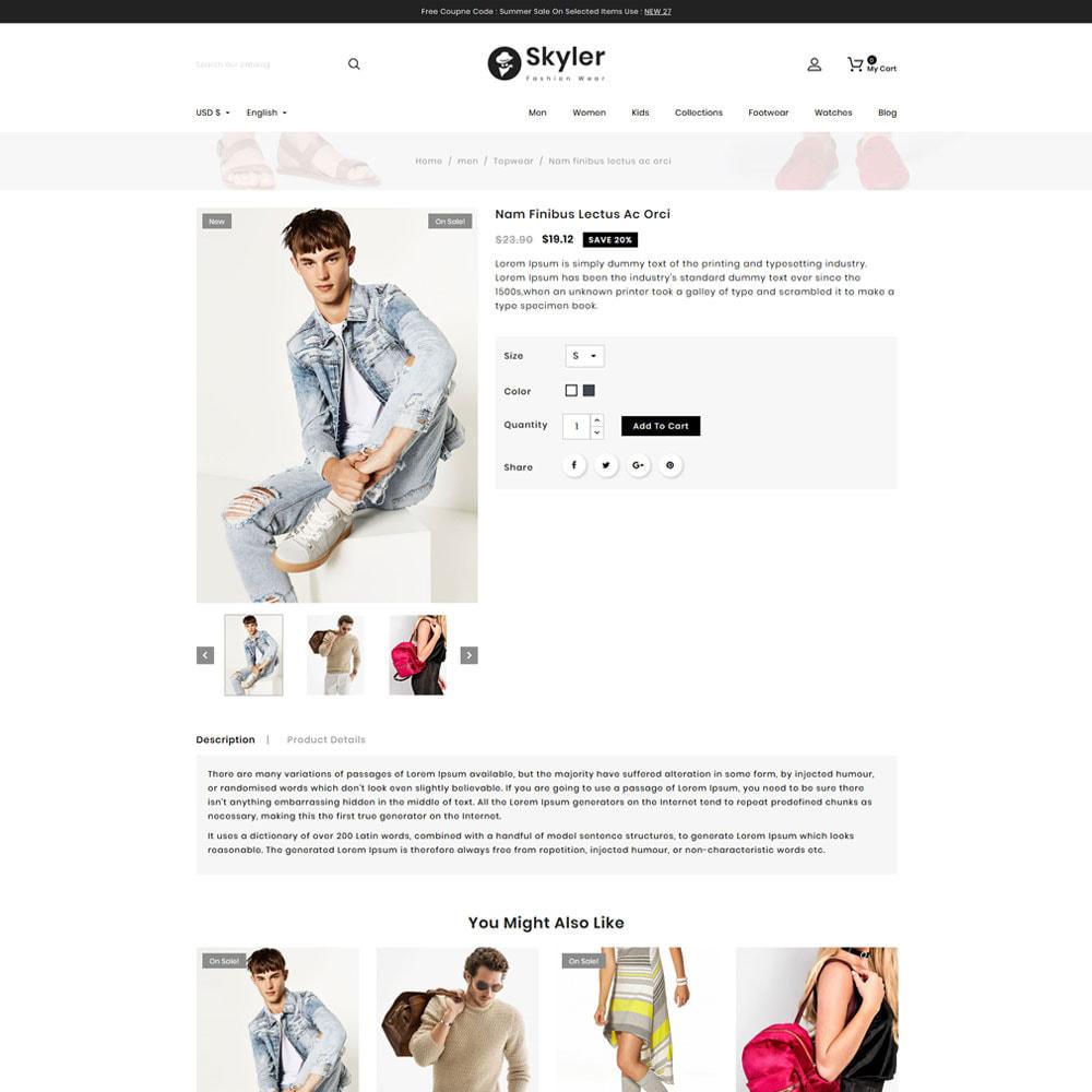 theme - Fashion & Shoes - Skyler Fashion - 4