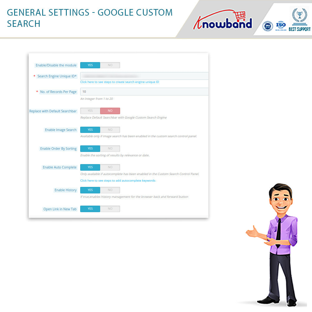 module - Ricerche & Filtri - Google Custom Search - 5