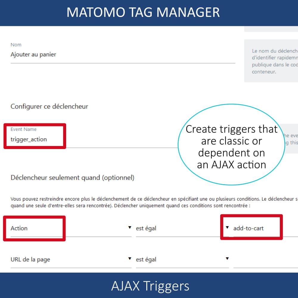 module - Informes y Estadísticas - Matomo tag manager - 4