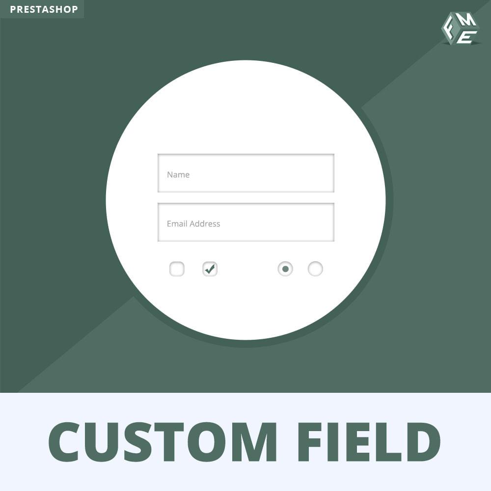 module - Anmeldung und Bestellvorgang - Benutzerdefinierte Felder, Fügen Sie Feld zur Checkout - 1