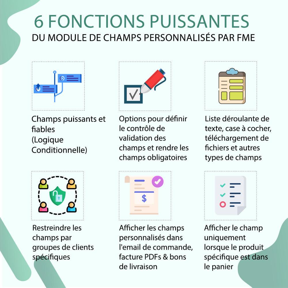 module - Inscription & Processus de commande - Champs paiement personnalisés, Ajouter des champs - 2