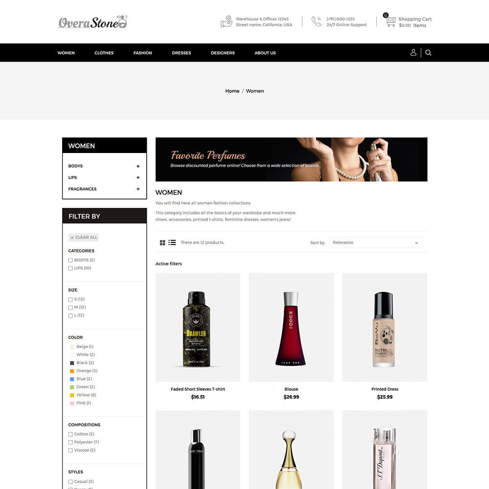 theme - Fashion & Shoes - Perfume Beauty - Fashion Accessories Store - 3