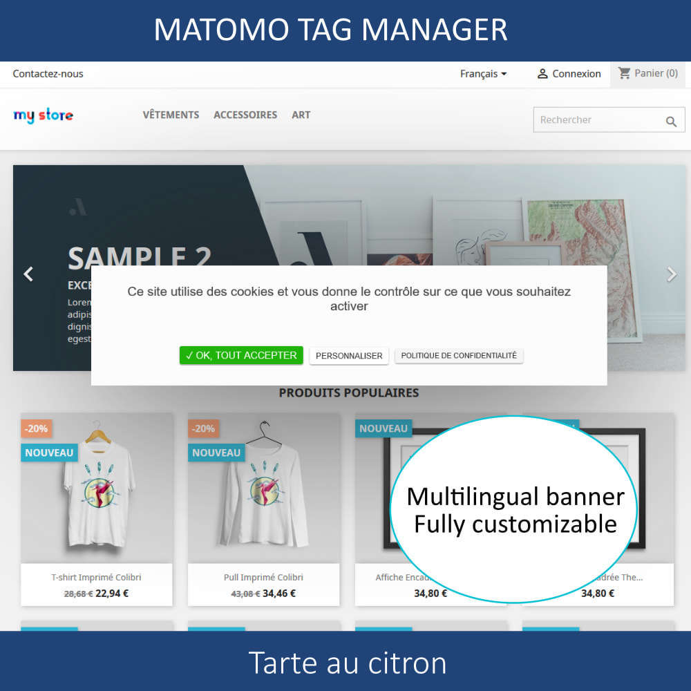 module - Администрация - Matomo tag manager + Cookie manager & banner (GDPR) - 2