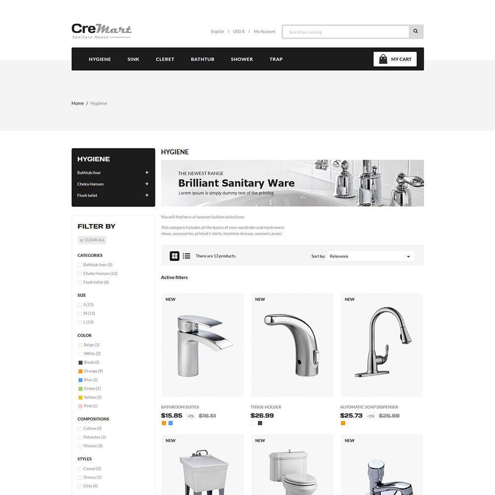 theme - Home & Garden - Cremart Sanitary - Sink Washbasin Store - 3
