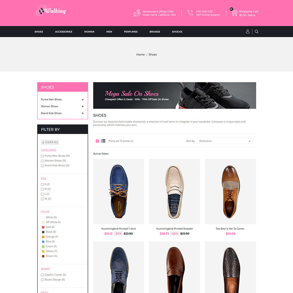 theme - Fashion & Shoes - Shoes Slipper - Footwear Fashion Store - 3