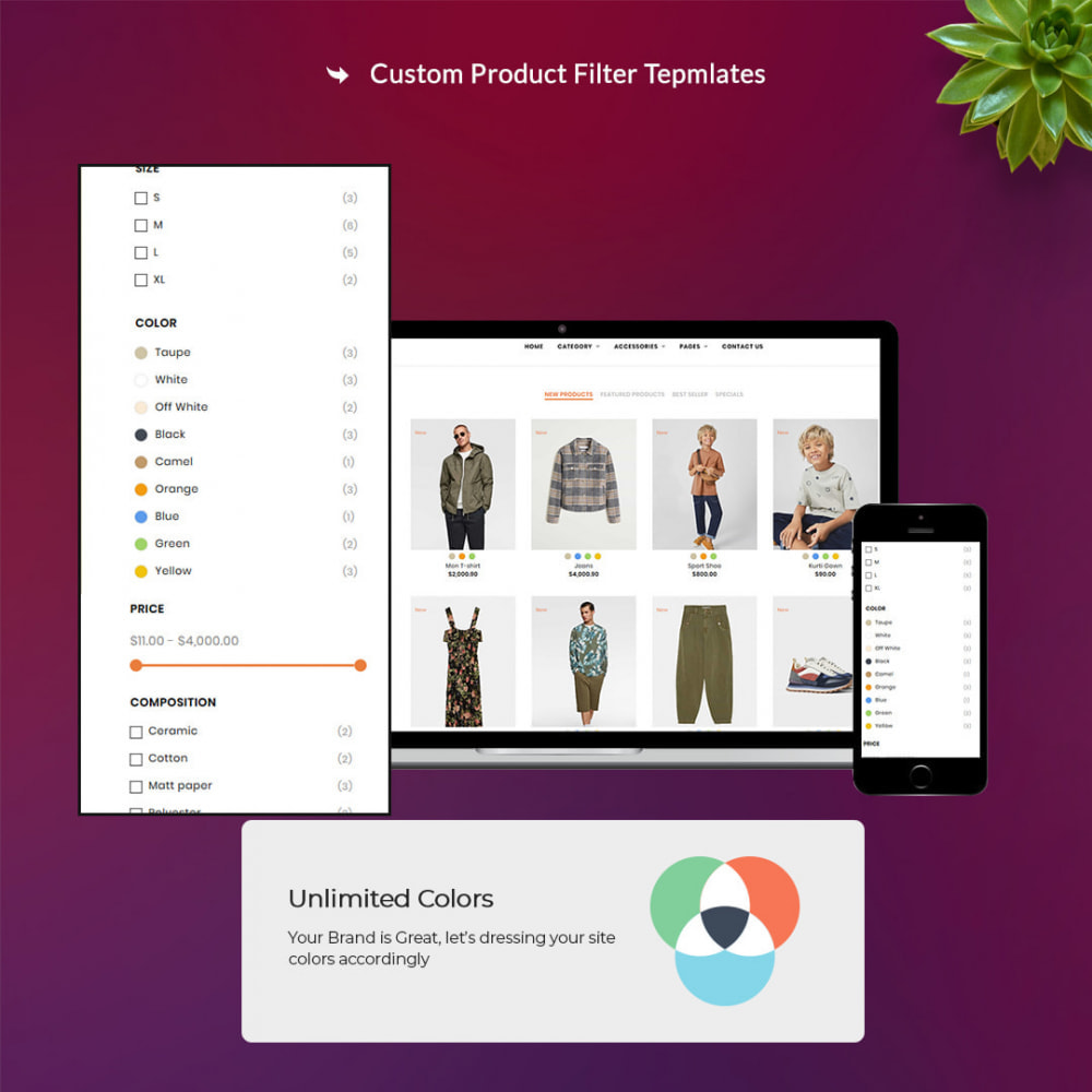 theme - Moda y Calzado - Oro Fashion eCommerce Store - 2