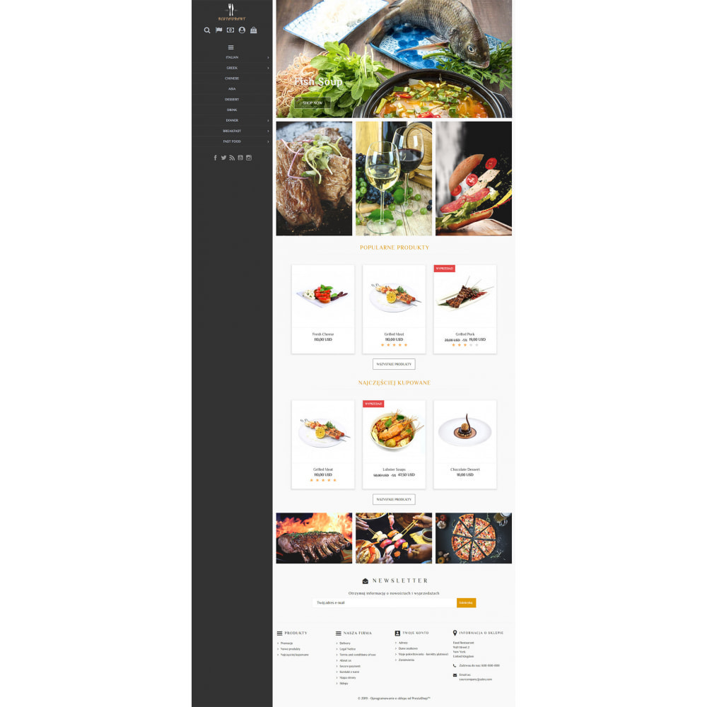 theme - Продовольствие и рестораны - Universal Restaurant - 2