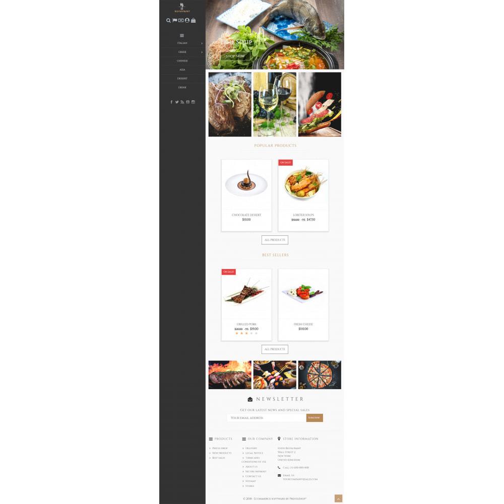 theme - Продовольствие и рестораны - Universal Restaurant - 4